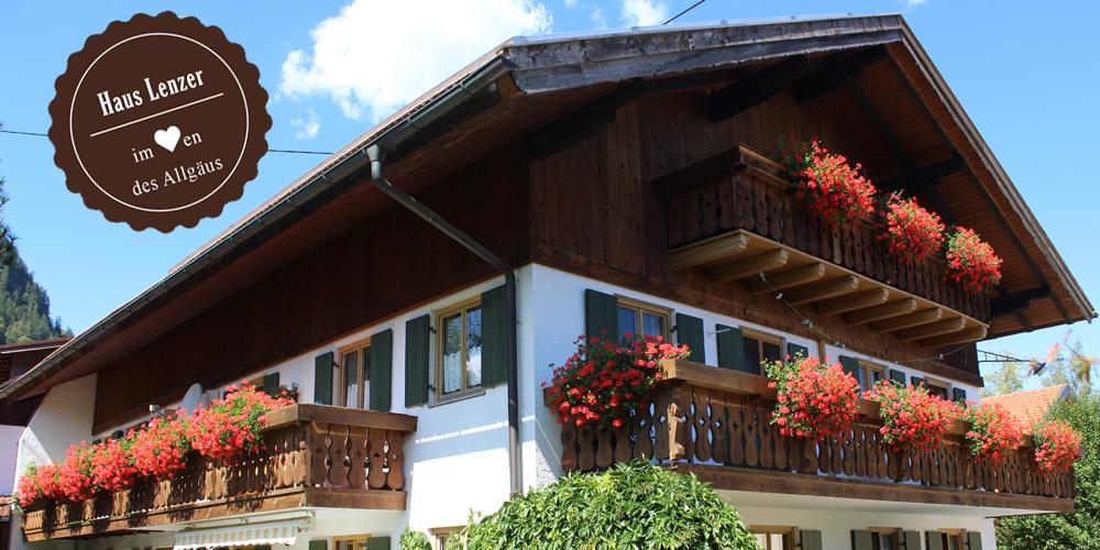 Haus Lenzer, Pfronten im Allgäu